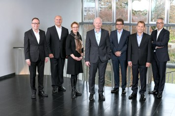 Management (left to right): Roland Wiedmer, Marc Monnier, Laura Grüter Bachmann, Dr. Roger Fasnacht, Willy Mesmer, Daniel Luder, Rolf Kunz